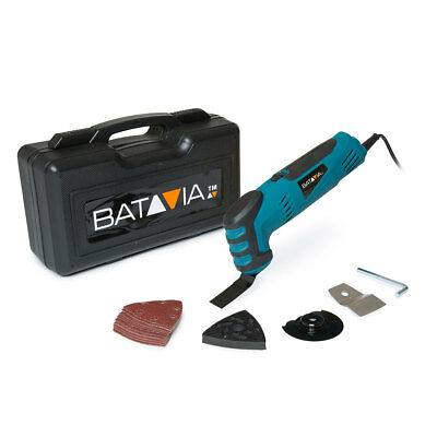 Batavia 250w Oscillating Multi Tool with Accessories Sander Cutter Scraper 240v