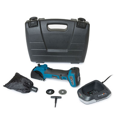 Batavia 18v Cordless Li-ion Mini Plunge Circular Saw 12mm Carry Case