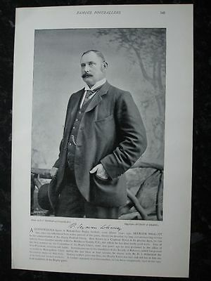 RARE Original Famous Footballers, #145 Seymour Whalley, RFU, Rugby 1895 - 96