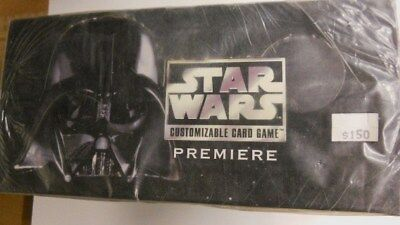 Star Wars Black Boarder first gaming 10 factory sealed starter decks 1990s