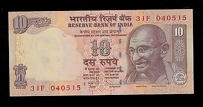 INDIA  10  RUPEES  2009   PICK # 95m  UNC-.  BANKNOTE.