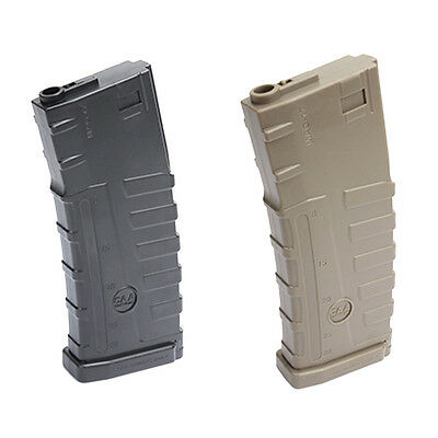 Caa Airsoft Magazin 140 Rd Mid Cap Airsoft Typ 4 Mag Poly Style Pmag Bb's