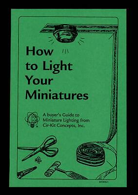 Melody Jane Dolls Houses Cir-Kit How to Light your Miniatures Instruction Book