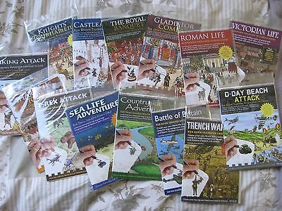 Rub Down Transfers  -  Battle Of Britain, Medieval, Roman, Viking, Sea Life