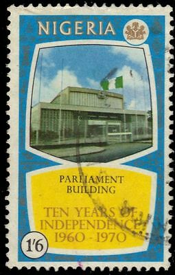 "NIGERIA 248 (SG253) - Independence ""Parliament Building"" (pa86412)"