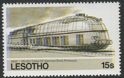 Lesotho (1268) - 1984 RailwaysClass 05 with superb COLOUR SHIFT  unmounted mint