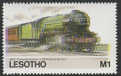 Lesotho (1269) - 1984 Railways FLYING SCOTSMAN with COLOUR SHIFT  unmounted mint