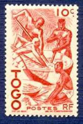TOGO #309 - Extracting Palm Oil-MNH