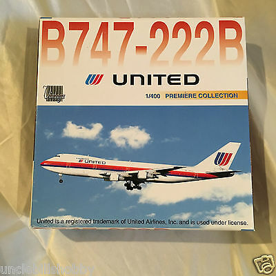 Dragon Wings 1/400 United Airlines Boeing 747-222B