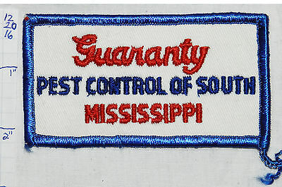 Mississippi, Guaranty Pest Control Of South Mississippi Patch