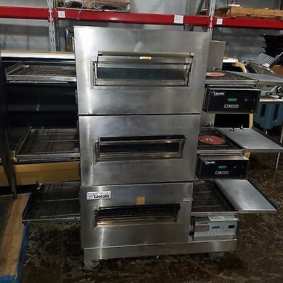 Lincoln Impinger Triple Stack Conveyor Oven Model # 1132 - 3 Phase Electric