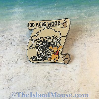 Rare Disney LE 100 Years Dreams Hundred Acre Wood Winnie the Pooh Pin (UX:8350)