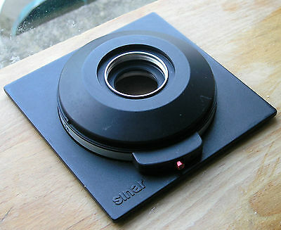 Sinar  later DB  size 1 mount manual set lens board