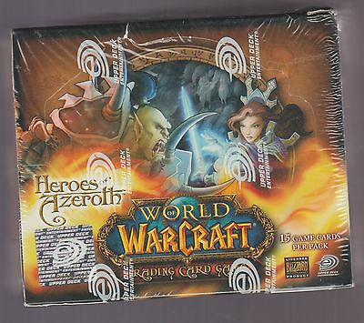 World Of Warcraft Heroes Of Azeroth Tcg  Factory Sealed  Booster Box  Ccg