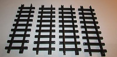 4 Pieces of Echo Toys Straight Plastic Train Track G Scale Replacements