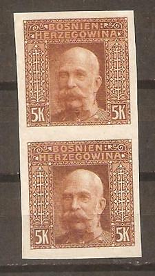 Bosnia and Herzegovina  SC 45 PAIR Imperforate proof VF