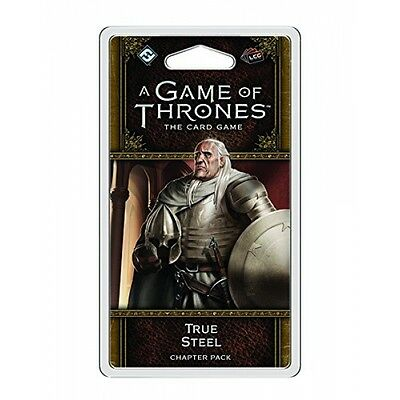 A Game of Thrones The Card Game Second Edition True Steel Brand New