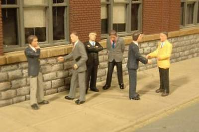 Bachmann Scene Scapes Businessmen O Scale Figures