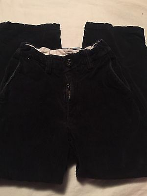 Boys Black Corduroy Pants