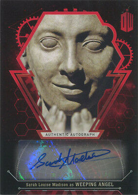 Doctor Who Extraterrestrial Encounters Autograph Card Sarah Louise Madison #4/5
