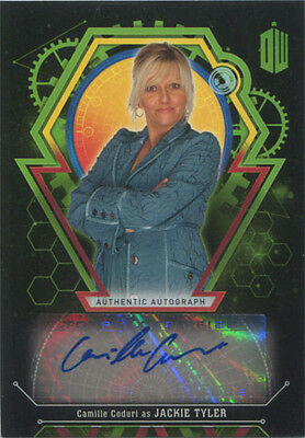 Doctor Who Extraterrestrial Encounters Autograph Card Camille Coduri #27/50