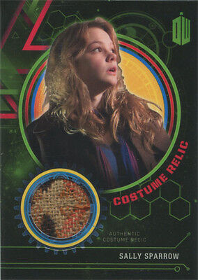Doctor Who Extraterrestrial Encounters Costume Relic Card Sally Sparrow #134/499