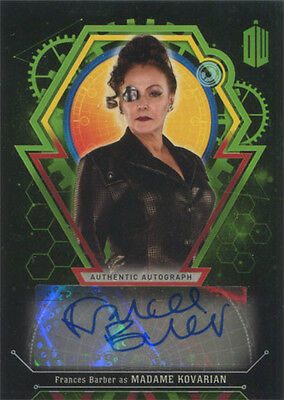 Doctor Who Extraterrestrial Encounters Autograph Card Frances Barber #39/50