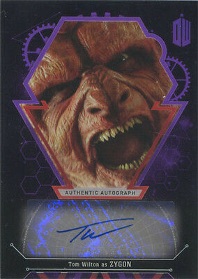 Doctor Who Extraterrestrial Encounters Autograph Card Tom Wilton as Zygon #04/10