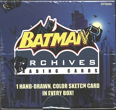 Batman Archives Factory Sealed Trading Card Box