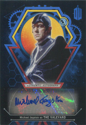 Doctor Who Extraterrestrial Encounters Autograph Card Michael Jayston #14/25