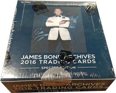 Rittenhouse James Bond Archives 2016 SPECTRE Factory Sealed Trading Card Box
