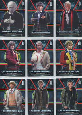 Doctor Who Extraterrestrial Encounters Doctors Across Space Complete 12 Card Set