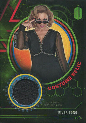 Doctor Who Extraterrestrial Encounters Costume Relic Card River Song #495/499