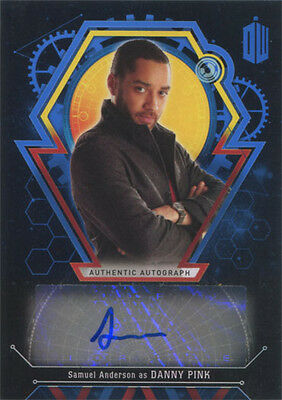 Doctor Who Extraterrestrial Encounters Autograph Card Samuel Anderson #03/25