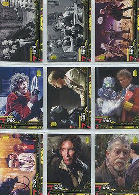 Doctor Who Extraterrestrial Encounters Yellow Parallel Complete 100 Card Set