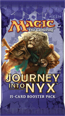 Magic the Gathering Journey Into NYX Factory Sealed Booster Pack