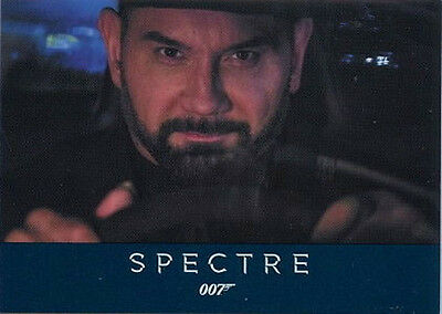 James Bond Archives 2016 SPECTRE Trading Card Binder Album with P3 Promo