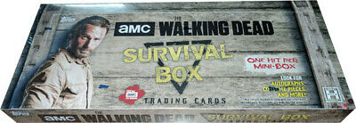 Walking Dead Survival Box Factory Sealed Master Hobby Box