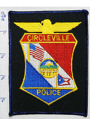 Ohio, Circleville Police Dept Patch