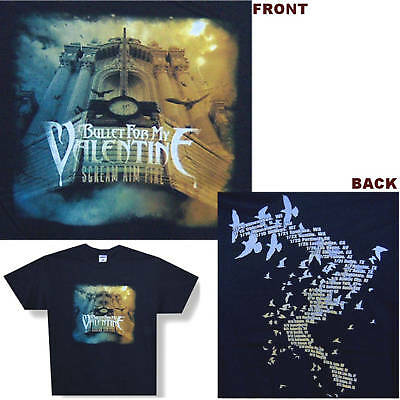 Bullet For My Valentine! Scream 08 Tour T-Shirt S New!