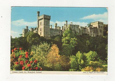 Lismore Castle Co Waterford 1980 Ireland Postcard 911a