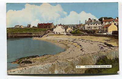 Cemaes Bay, Anglesey - Penrhyn Beach & nearby houses - 1964 postcard