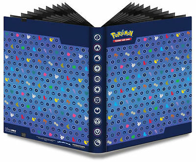 NEW ULTRA PRO Pokemon Silhouette Pro Binder - 9 Pocket 360 Card Storage Folder