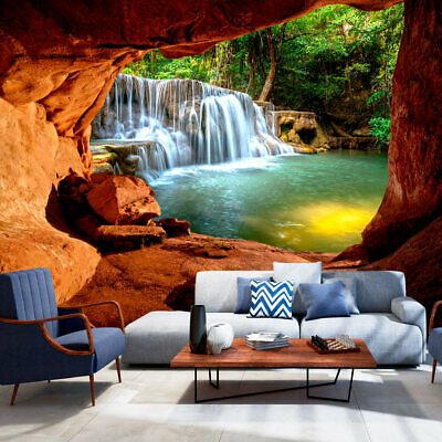 fototapete landschaft vlies tapete xxl wandbilder natur wasserfall c c 0141 a a eur 8 98. Black Bedroom Furniture Sets. Home Design Ideas