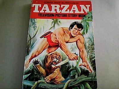 """TARZAN TELEVISION PICTURE STORY BOOK 1967  with """"Brothers of the Spear"""""""