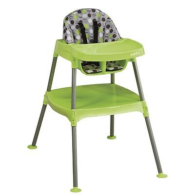 Evenflo Convertible Highchair - Dottie Lime