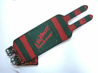 "Nightmare On Elm Street ""stripes"" Freddie Sweater Colors Wrist Band New S/m"