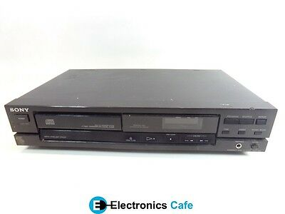 Sony CDP-190 Compact Disc CD Player Stereo Audio System *No Remote*
