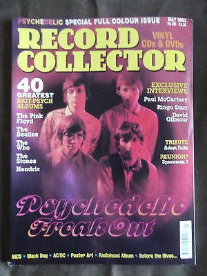 RECORD COLLECTOR MAGAZINE - Issue 285 - Psychedelic Freak Out
