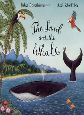 The Snail and the Whale By Julia Donaldson, Axel Scheffler. 9780333982242
